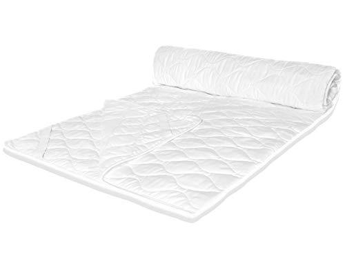 ÖKO TEX 100x200 cm topper matras onderbed matrasbeschermer boxspringbed waterbed verschillende maten