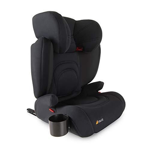 Hauck Bodyguard Pro - Sillas de coche Grupo 2/3 para niños de 3 a 12 años (15-36kg), con portavasos, ligero, ajustable, textil elástico...