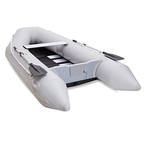 Gonfiabile KA per Adulti 300x150x42cm zattera Portatile 4 Persona 450 kg PVC Galleggiante per Andare in Barca da Caccia Pesca o Giocare sui fiumi Laghi e Acqua Bianca Rapids BJY969