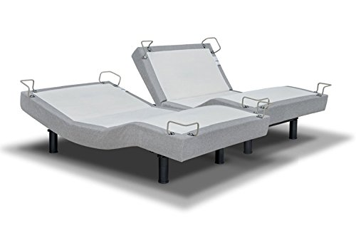 REVERIE 5D DELUXE ADJUSTABLE BED FROM THE MAKERS OF THE TEMPURPEDIC ERGO (SPLIT CAL KING)