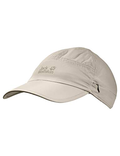 Jack Wolfskin Unisex Supplex Canyon Casquettes Kappe, (Light Sand), (Herstellergröße: Large)