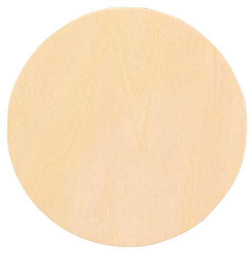 """Woodcrafter 1"""" Thick Baltic Birch Plywood Circle 12 Inch"""