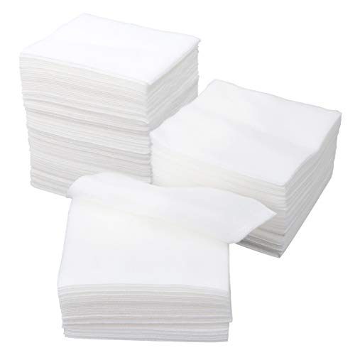 Healifty 200PCS Non Woven Gauze Pads Sponge 4x4 inch Avant Gauze for Wound Care First Aid Supplies, for Scrubbing and Cleaning