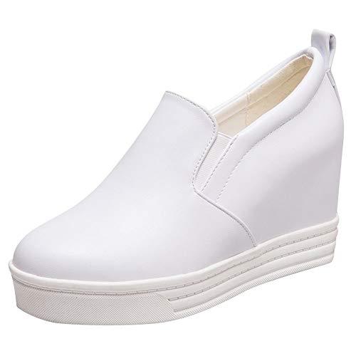 DammaiiY Dames High Heel Loafer Schoenen Met Verborgen Hak