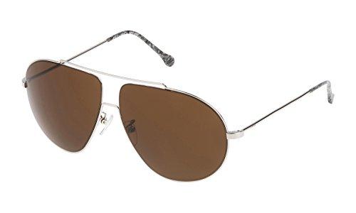 Loewe SLW477M63579Y Gafas de sol, Shiny Palladium, 63 para Mujer