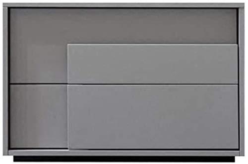 Nachttisch Nachttisch Modern Minimalistisch Schlafzimmer Bett Persönlichkeit Zwei Nachttisch Schrank Aufbewahrungsschrank 50x40x40cm Beistelltisch