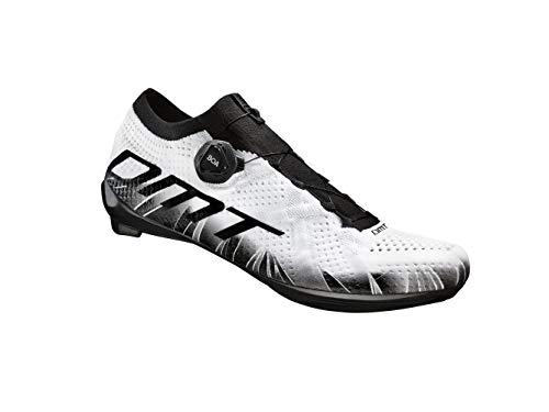 Scarpe da ciclismo da strada DMT KR1, bianco (Infradito colorati estivi, con finte perline), 46 EU