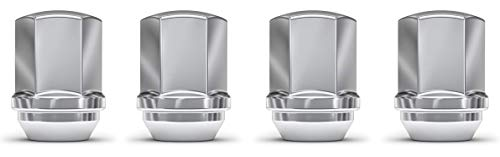 White Knight 1709D-4 Chrome M14x1.50 OEM Factory Style Lug Nut for Ram 1500, 2500, 3500, Dodge Durango, Chevy Camero, Chrysler 300, 4 Pack