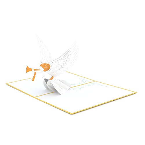 Lovepop Christmas Angel Pop Up Card - 3D Card, Christmas Pop Up Card, Religious Christmas Card, Angel Greeting Card, Holiday Greeting Card Photo #3