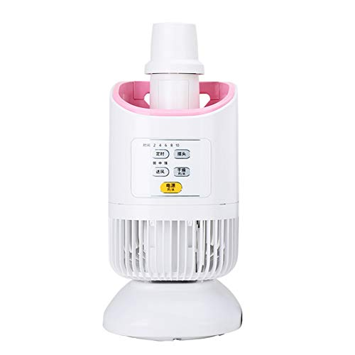 QHAI Elektro-Tuch Trockner, Mini feuchtigkeitsabsorbierenden Luftentfeuchter Haushalts Spiral Garment Warm Wind Wäschetrockners,Rosa