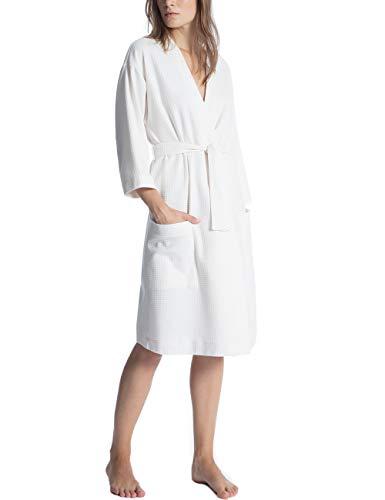 CALIDA Damen Cosy Shower Schlafanzughose, Leisure White, 48