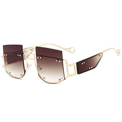 zhuoying Gafas gafas de sol femeninas punk gafas enamoradas gafas de sol marea remache personalidad-2