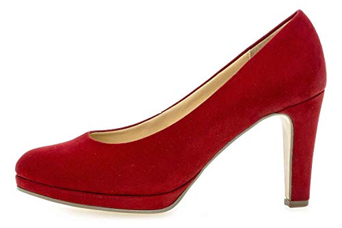 Gabor Damen Fashion Pumps, Rot (Cherry 55), 40 EU