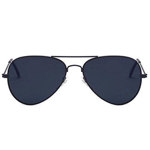 BUKUANG 80s Ladies Fashion Style Rétro Designer Aviator Sunglasses Men Shades UV400 Lentille Unisexe,D