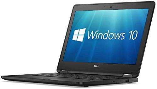 Dell Latitude E7270 12.5' Core i5-6300U 8GB 256GB SSD WebCam HDMI WiFi BT Windows 10 Professional Laptop PC (Renewed)