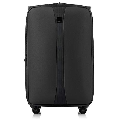 Tripp Charcoal Superlite 4W Medium 4 Wheel Suitcas