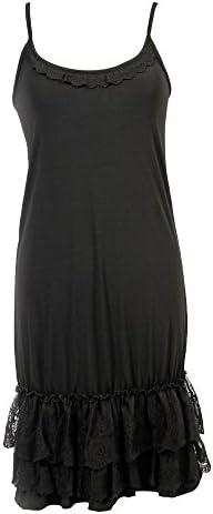 Peekaboo Chic Classy vs Sassy Slip Dress Extender Lace Ruffle Slip Extender Dress Extenders product image