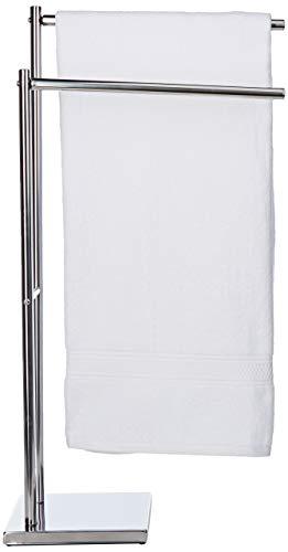 ARTEX Gym Deckenfluter Handtuchhalter, Edelstahl, 40x 18x 83cm