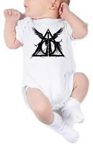 Body de NIÑO Harry Potter Hogwarts Slytherin Gryffindor 009