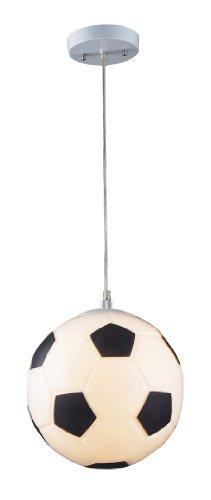 Elk 5123/1 1-Light Soccer Ball Pendant In Silver