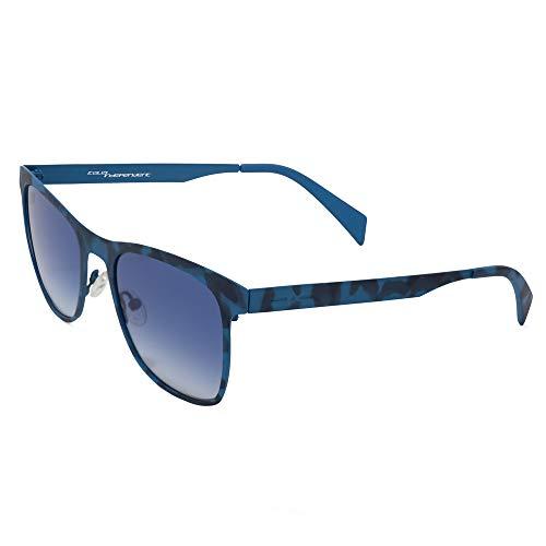 italia independent 0024-023-000 Gafas de sol, Azul, 53 Unisex