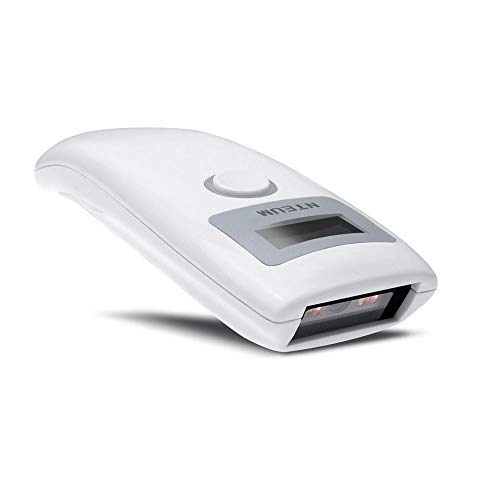 NETUM Bluetooth douchette Code Barre, CCD Lecteur Code Barre sans Fil Lecteur de Codes Barres USB pour Matière de Support écran d ordinateur Android iOS IPAD Mac NT-Z3S