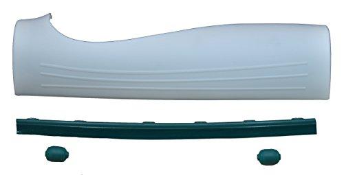 Spar Set Front – Haube – Klappe zur Reparatur Vorwerk EB 360 Bestehend aus 1 x Fronthaube, 1 x Frontrollen, 1 x Frontlippe