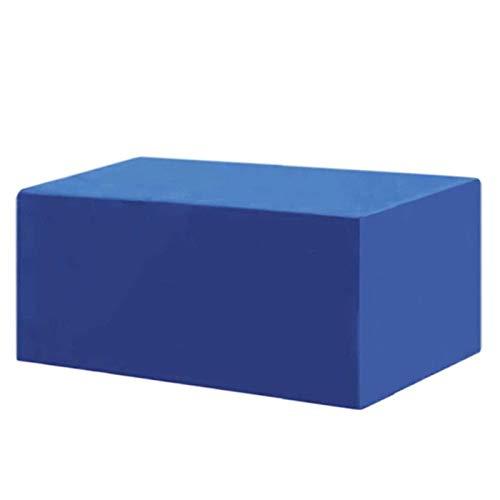XYXH Gartenmöbel Abdeckung 170x100x70cm, Wasserdicht Winddicht UV-Beständiges, Schwerlast 420D Oxford Gewebe Schutzhülle Für Gartentisch Sitzgruppe, Rechteckig