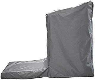 Treadmill Cover, Non-Folding Running Machine Protective Cover Dustproof Waterproof Cover and Water-Resistant Fitness Equipment Fabric Ideal for Indoor Or Outdoor Use, 81 Lx 37 Wx 67 H(Gray)