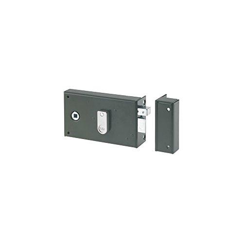 Yale YAH36G - Cerradura horizontal con batidor (2 llaves, versión izquierda) para puerta interior