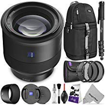 ZEISS Batis 85mm f/1.8 Lens for Sony E Mount w/Advanced Photo and Travel Bundle
