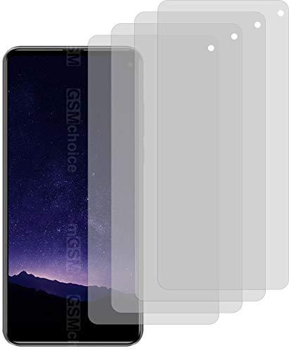 4ProTec I 4X ANTIREFLEX matt Schutzfolie für Cubot Max 2 Bildschirmschutzfolie Displayschutzfolie Schutzhülle Bildschirmschutz Bildschirmfolie Folie