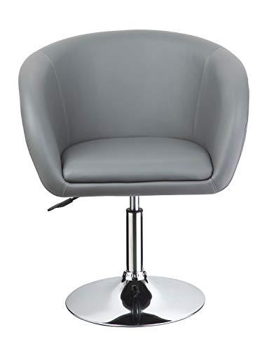 Duhome Elegant Lifestyle® -  Clubsessel in Grau