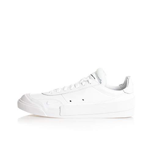 Nike Drop-Type PRM, Zapatos de Tenis para Hombre, White/Black, 42.5 EU