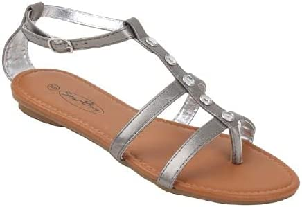 Starbay Women's Strappy Gladiator with Weekly update Free shipping New Flat Rhinestones Sandals