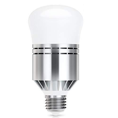 LED Crepuscolare da Esterno, Lampadine Con Sensore Crepuscolare E27 12W Lampadine Bianco Freddo 6000K Automatico On/Off Per Garage Corridoio Veranda [Classe Di Efficienza Energetica A++]