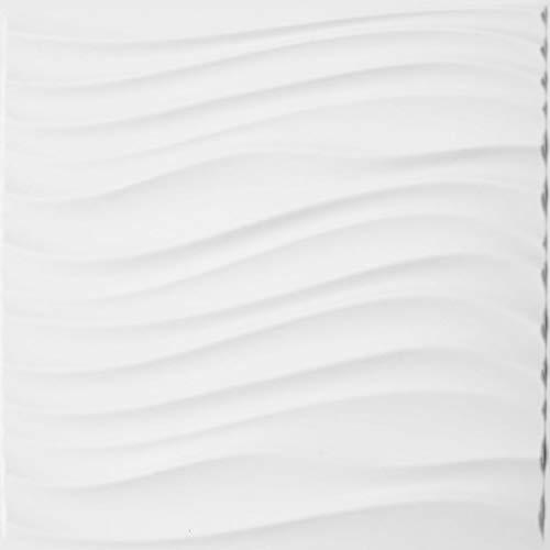 Revestimiento De Paredes 3D Maxwell 3m² | 12 Paneles Decorativos 3d de 50x50cm | Paneles Decorativos Para Pared WallArt, Papel Pintado 3d | Panel De Pared 3d