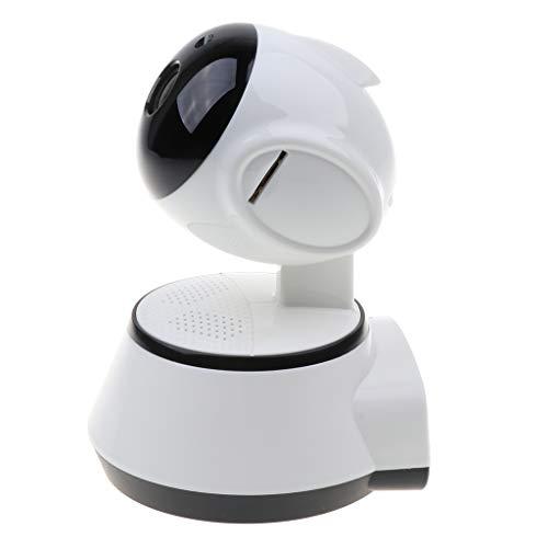 gazechimp Câmera de Vigilância Doméstica WiFi com Visão Noturna, Pixel de 130 W, Dock de Rotação