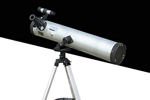 ZTYD Telescopio astronómico de reflexión, telescopio de refracción monocular HD Space Finder con trípode Giratorio de 360 ° Primeros Pasos