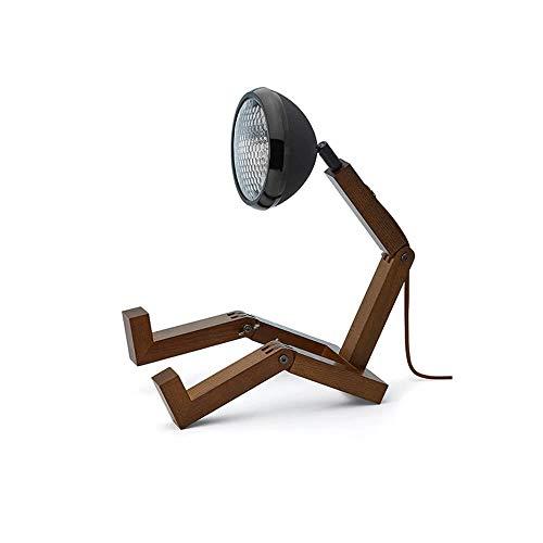 Piffany Lamp Mr. Wattson 12V, Matt Black, 180-400mm
