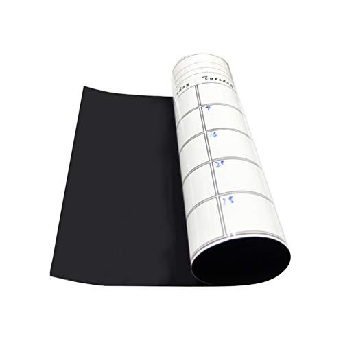 STOBOK - Organizador magnético de calendario para frigorífico, calendario, pegatinas, pizarra de borrado en seco, planificador mensual