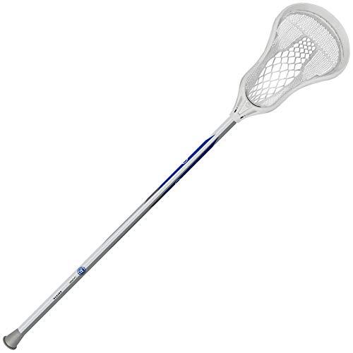 """WARRIOR Evo Warp Next Complete Lacrosse Stick Attack 40"""", White"""