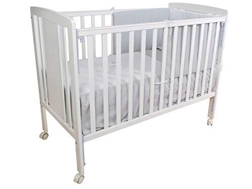 Cuna para bebé, modelo cielo Mundi Bebé + KIT COLECHO