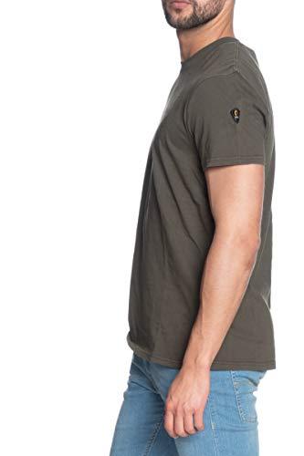 Ciesse T Shirt Manica Corta Uomo Piumini Verde Militare