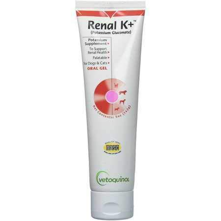 Vet Solutions Renal K + Potassium Gluconate & Vitamin B Oral Gel 5oz.