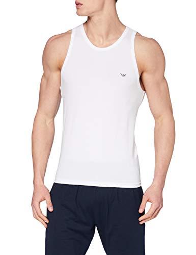 Emporio Armani Underwear Herren 110828CC735 Unterhemd, Weiß (Bianco 00010), Medium