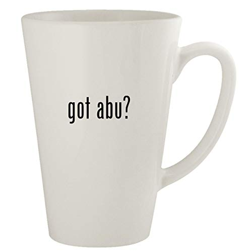 got abu? - Ceramic 17oz Latte Coffee Mug