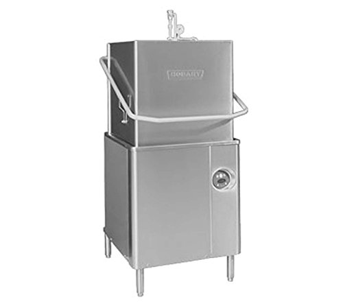 Hobart AM15-2 - High Temperature Single Rack Dishwasher, 0.74 Gallons of Water per Rack