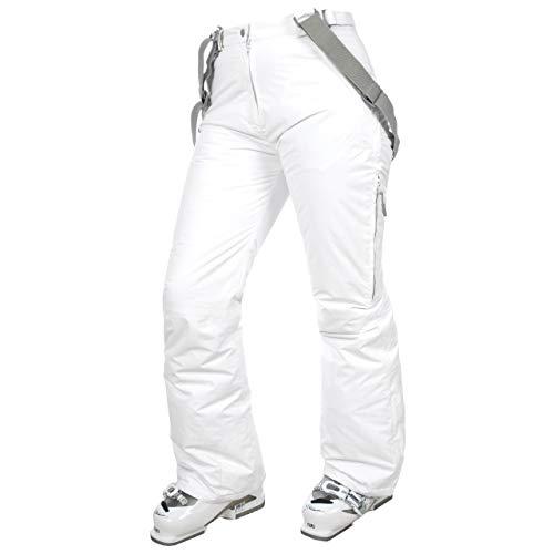 Trespass Lohan Pantaloni da sci, Donna, Bianco, S