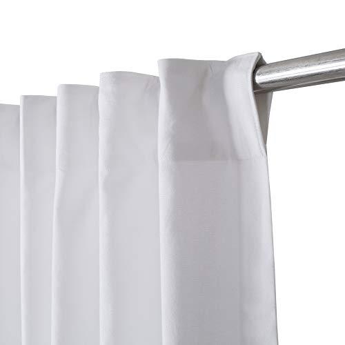White Cotton Curtains Set of 2, White Cotton Curtains 96 inches Long & 50 inch Wide,Cotton Curtains,tab top Curtains,White Cotton Curtains,White Panel Curtains,Cotton Duck Curtains,tab top Curtains